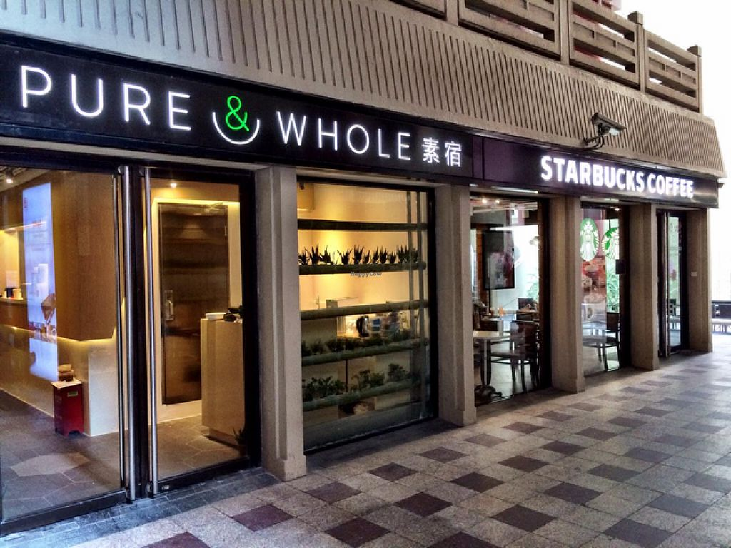 """Photo of Pure and Whole - Shanghai Centre  by <a href=""""/members/profile/Tianci"""">Tianci</a> <br/>Next to Starbucks <br/> February 13, 2014  - <a href='/contact/abuse/image/45276/64297'>Report</a>"""