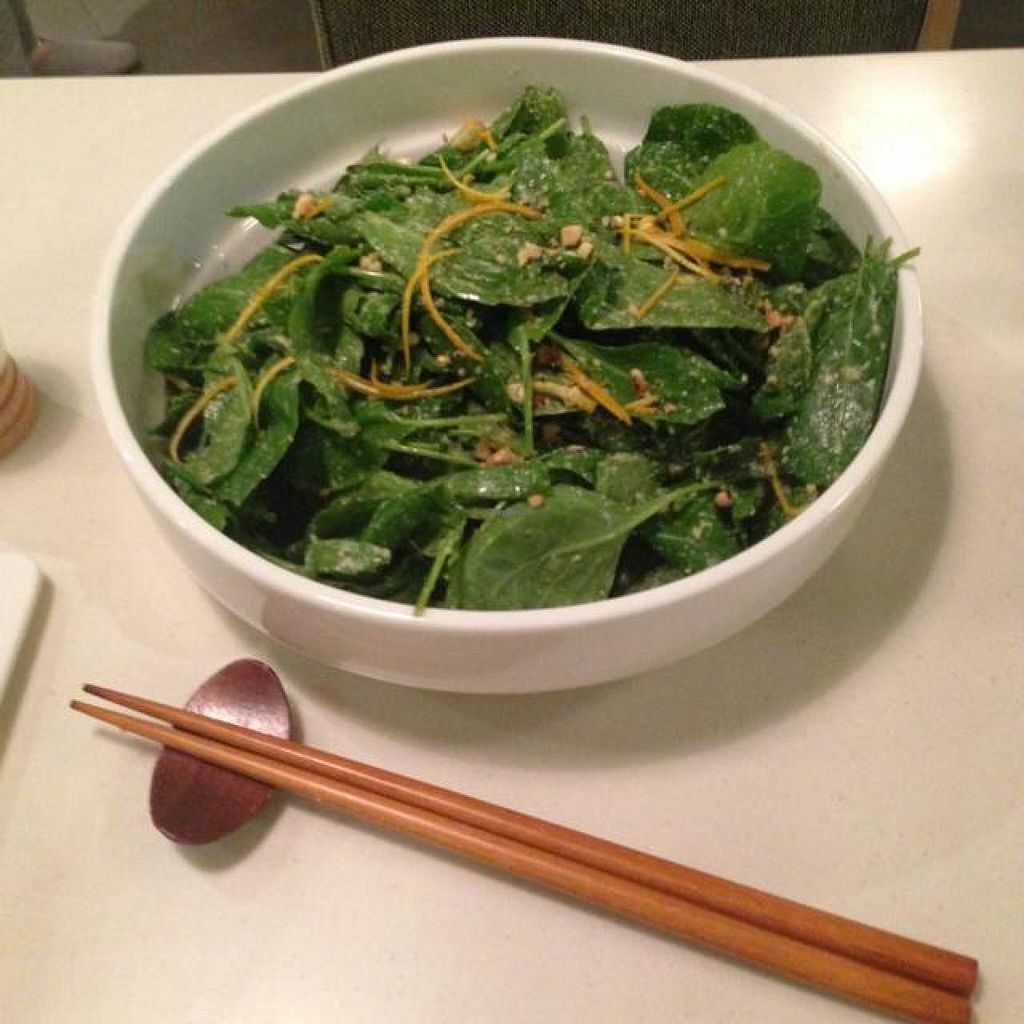 """Photo of Pure and Whole - Shanghai Centre  by <a href=""""/members/profile/AndyT"""">AndyT</a> <br/>Raw Kale salad <br/> September 6, 2014  - <a href='/contact/abuse/image/45276/79169'>Report</a>"""