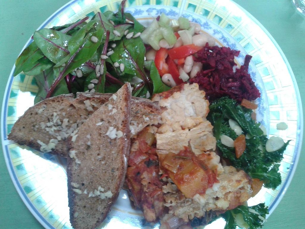 """Photo of The Hub at Healthy Spirit  by <a href=""""/members/profile/jennyc32"""">jennyc32</a> <br/>Vegan lasagne <br/> April 27, 2015  - <a href='/contact/abuse/image/45286/100481'>Report</a>"""