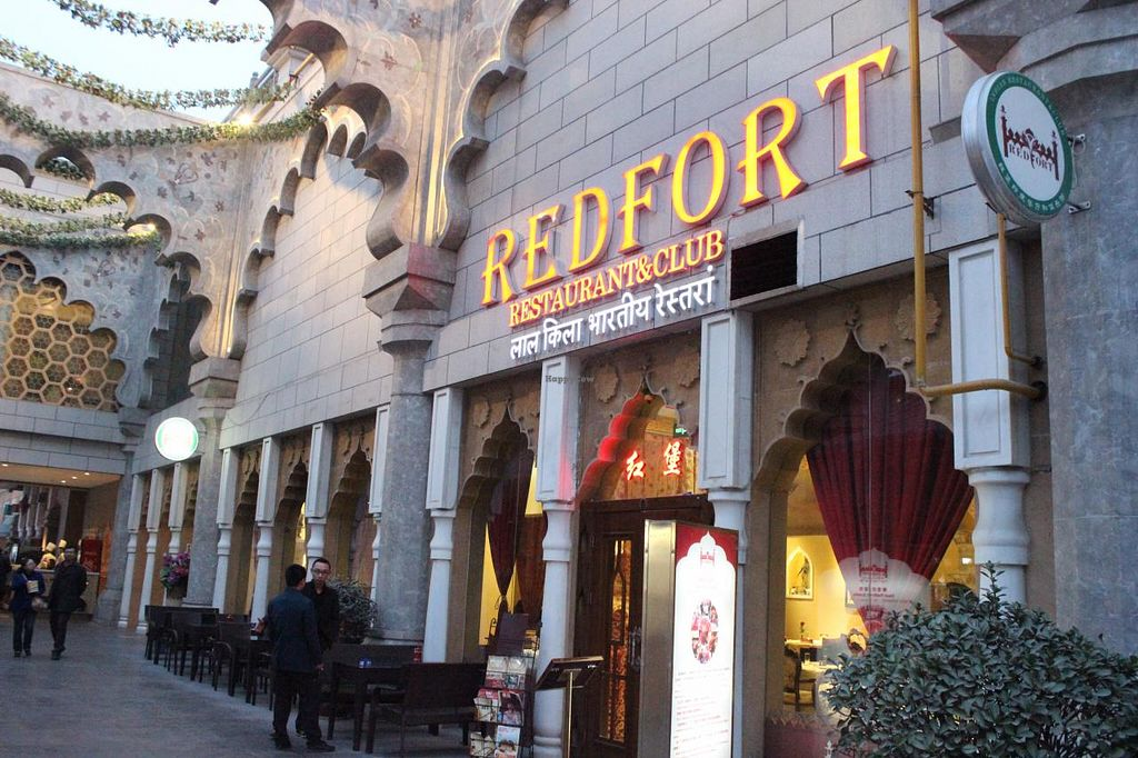 """Photo of Redfort Indian Restaurant  by <a href=""""/members/profile/Dev%20Mehra"""">Dev Mehra</a> <br/>Redfort Restaurant outer view <br/> March 13, 2015  - <a href='/contact/abuse/image/45317/95598'>Report</a>"""