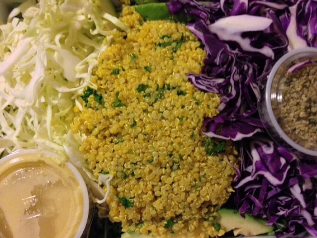 """Photo of Le Pain Quotidien  by <a href=""""/members/profile/cookiem"""">cookiem</a> <br/>Detox quinoa seasonal salad - yum! <br/> February 20, 2014  - <a href='/contact/abuse/image/45331/64642'>Report</a>"""