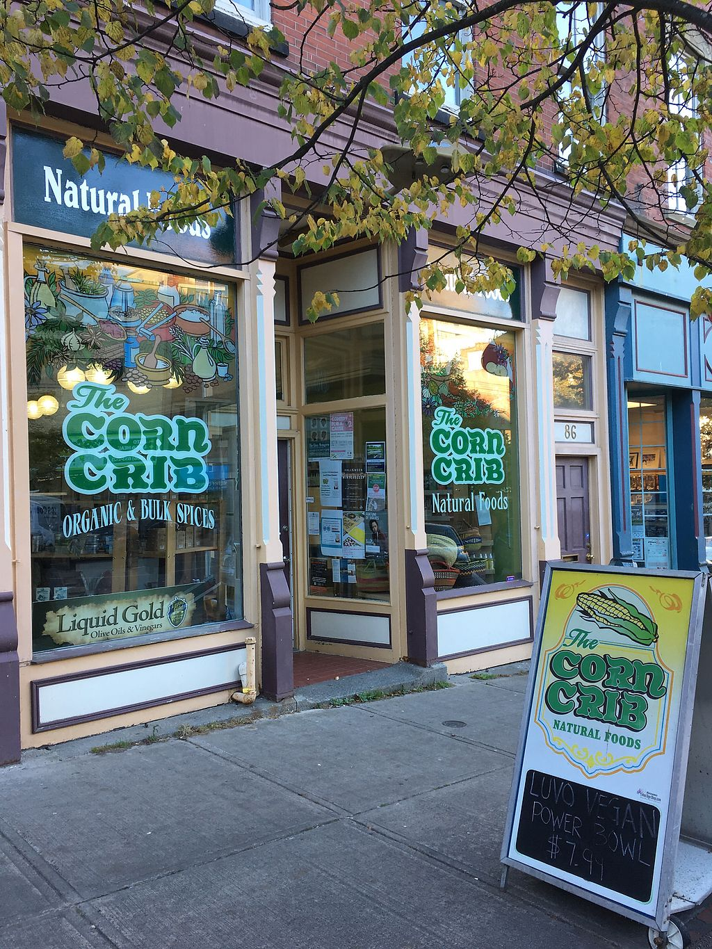 """Photo of Corn Crib Natural Foods  by <a href=""""/members/profile/Scholemillers"""">Scholemillers</a> <br/>New location <br/> October 12, 2017  - <a href='/contact/abuse/image/45339/314471'>Report</a>"""