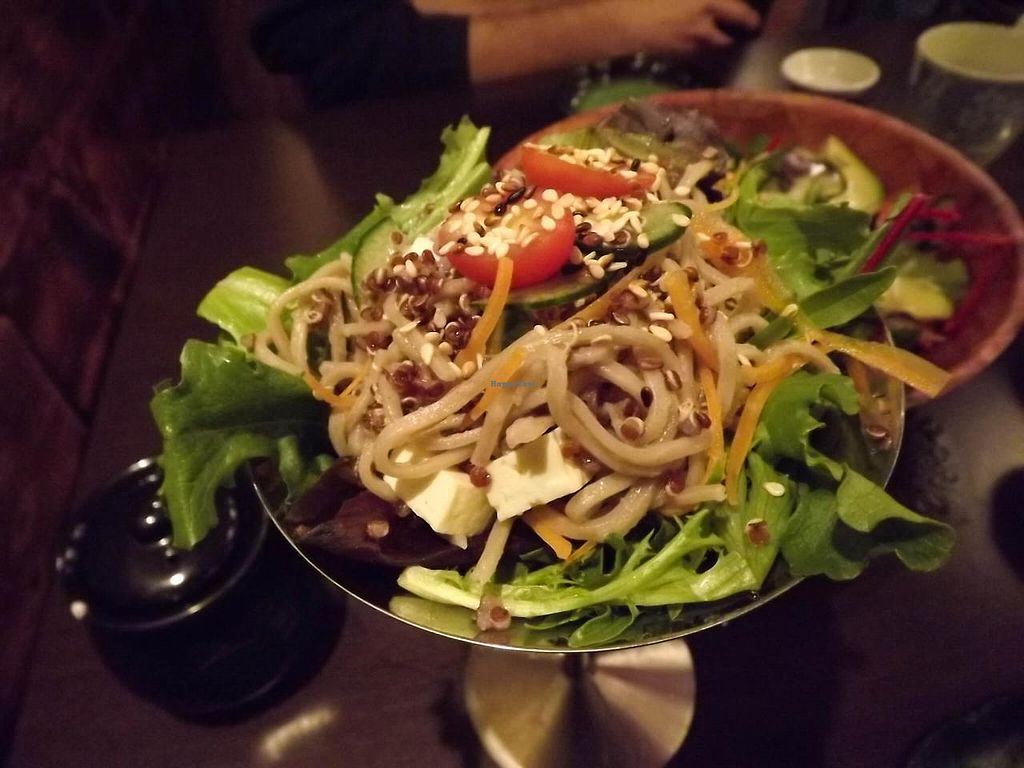 """Photo of Shizenya  by <a href=""""/members/profile/FreeBird"""">FreeBird</a> <br/>Organic Quinoa Soba Noodle Salad <br/> March 8, 2014  - <a href='/contact/abuse/image/45389/65511'>Report</a>"""