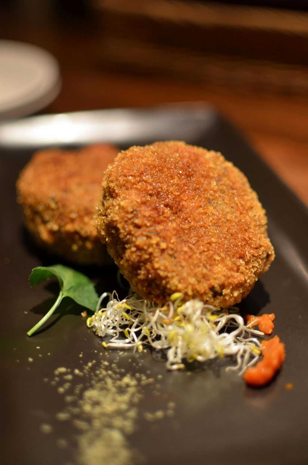 """Photo of Organic Plus  by <a href=""""/members/profile/chocoholicPhilosophe"""">chocoholicPhilosophe</a> <br/>Rice croquette <br/> March 19, 2015  - <a href='/contact/abuse/image/45393/96204'>Report</a>"""