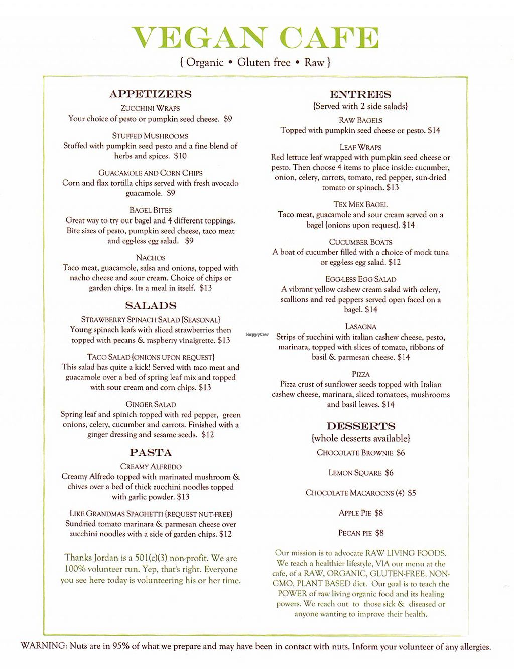 """Photo of Healthy Sins Vegan Cafe  by <a href=""""/members/profile/widgetoc"""">widgetoc</a> <br/>High-res menu <br/> February 25, 2014  - <a href='/contact/abuse/image/45407/64820'>Report</a>"""