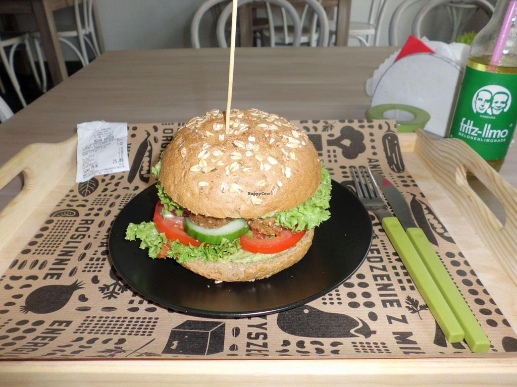 "Photo of Nova Krova  by <a href=""/members/profile/Doro%2A"">Doro*</a> <br/>Falafel burger <br/> August 12, 2014  - <a href='/contact/abuse/image/45419/76767'>Report</a>"