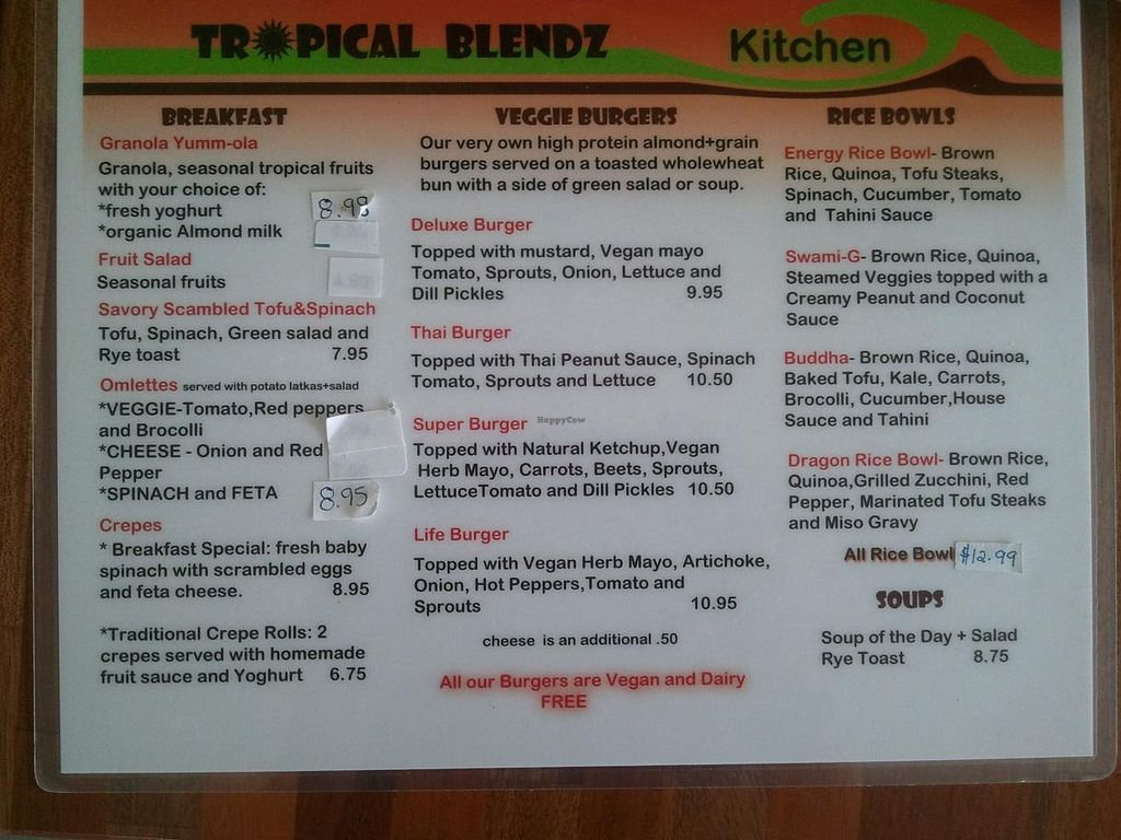 """Photo of CLOSED: Tropical Blendz  by <a href=""""/members/profile/selena"""">selena</a> <br/>Main menu <br/> February 23, 2014  - <a href='/contact/abuse/image/45453/64759'>Report</a>"""
