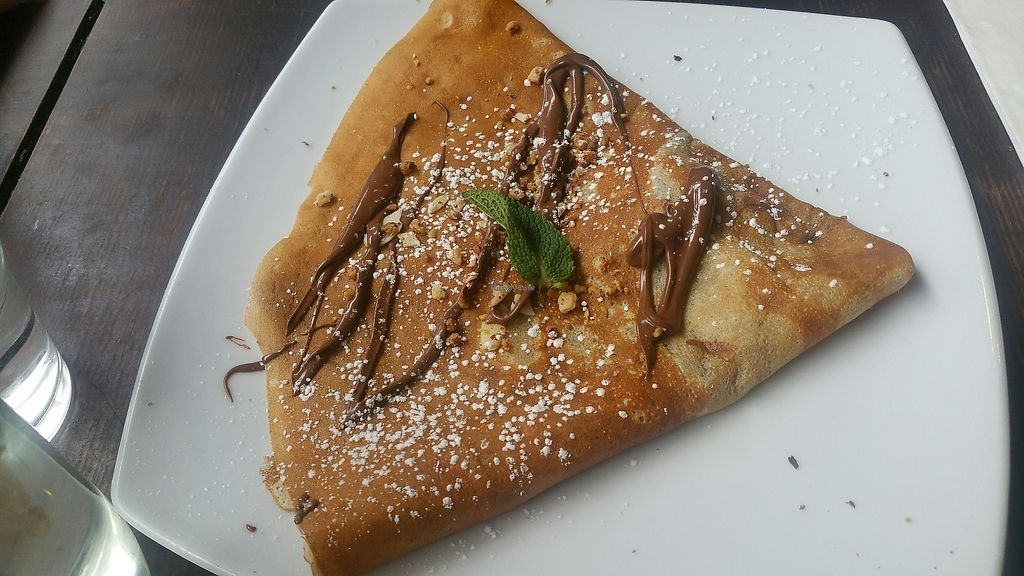 """Photo of Senzala Creperie  by <a href=""""/members/profile/jollypig"""">jollypig</a> <br/>Having a sweet crepe <br/> June 11, 2017  - <a href='/contact/abuse/image/45478/268145'>Report</a>"""
