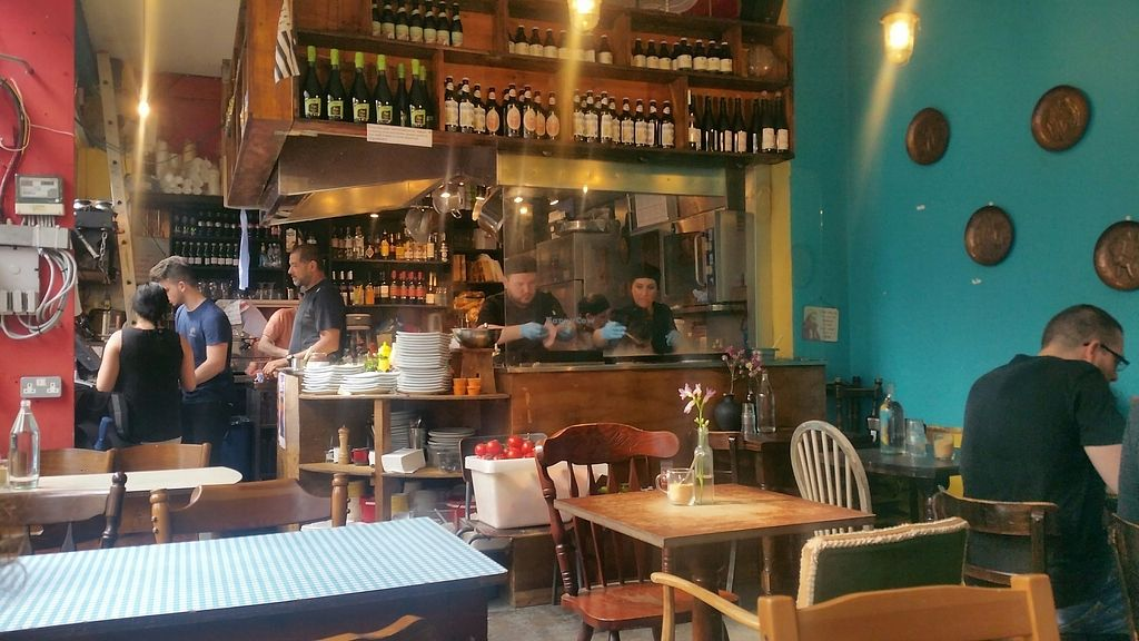 """Photo of Senzala Creperie  by <a href=""""/members/profile/jollypig"""">jollypig</a> <br/>Quiet inside when it's warm outside <br/> June 11, 2017  - <a href='/contact/abuse/image/45478/268147'>Report</a>"""