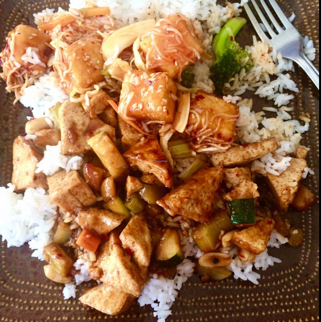 "Photo of Tasty Garden  by <a href=""/members/profile/flowerferguson"">flowerferguson</a> <br/>Sesame Tofu (top) and Kung Pao Tofu (bottom) <br/> June 23, 2015  - <a href='/contact/abuse/image/45485/107068'>Report</a>"