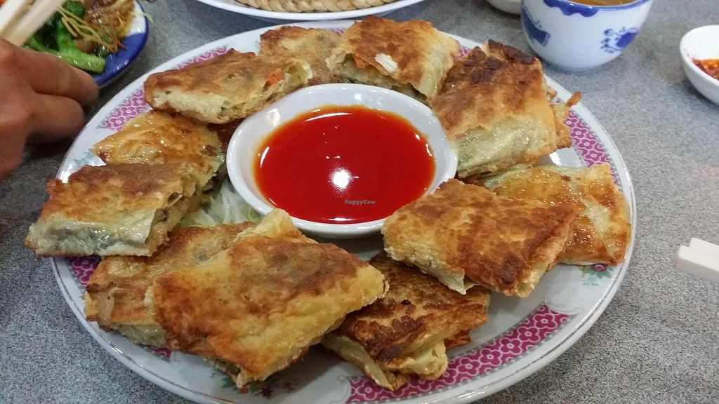 """Photo of Happy Veggie House  by <a href=""""/members/profile/Yeona"""">Yeona</a> <br/>Beancurd rolls <br/> June 28, 2015  - <a href='/contact/abuse/image/45528/107592'>Report</a>"""