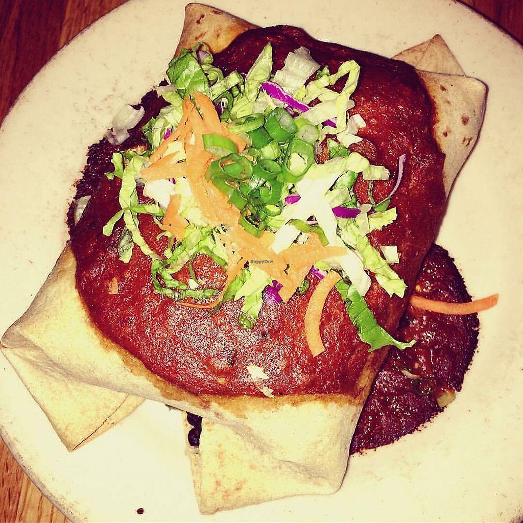 "Photo of Casa Nueva  by <a href=""/members/profile/Tabgreenvegan"">Tabgreenvegan</a> <br/>Vegan Burrito! <br/> March 28, 2018  - <a href='/contact/abuse/image/4553/377428'>Report</a>"