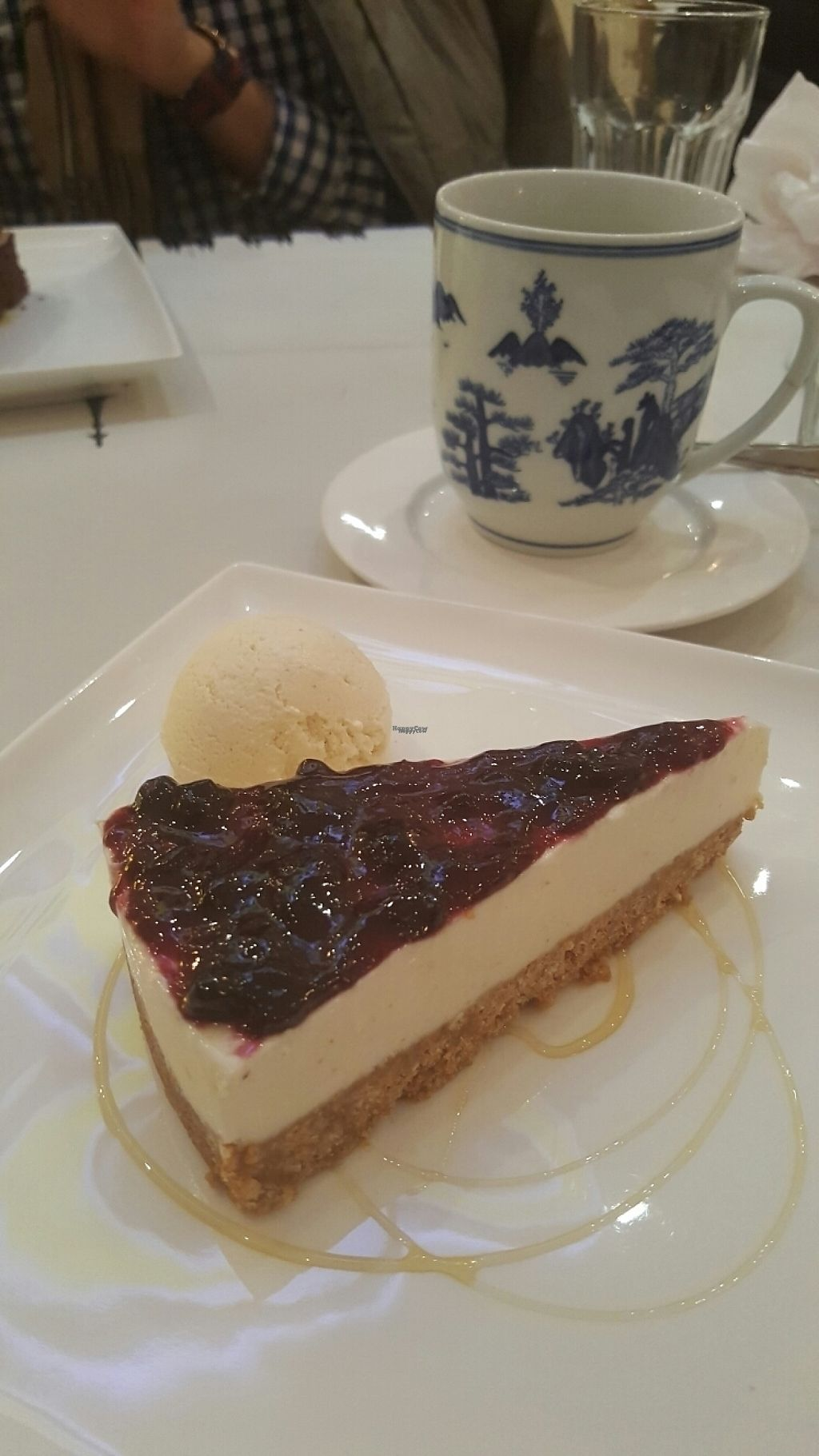 "Photo of Banana Tree - Wardour St  by <a href=""/members/profile/Clare"">Clare</a> <br/>vegan cheesecake <br/> March 12, 2017  - <a href='/contact/abuse/image/45558/235549'>Report</a>"