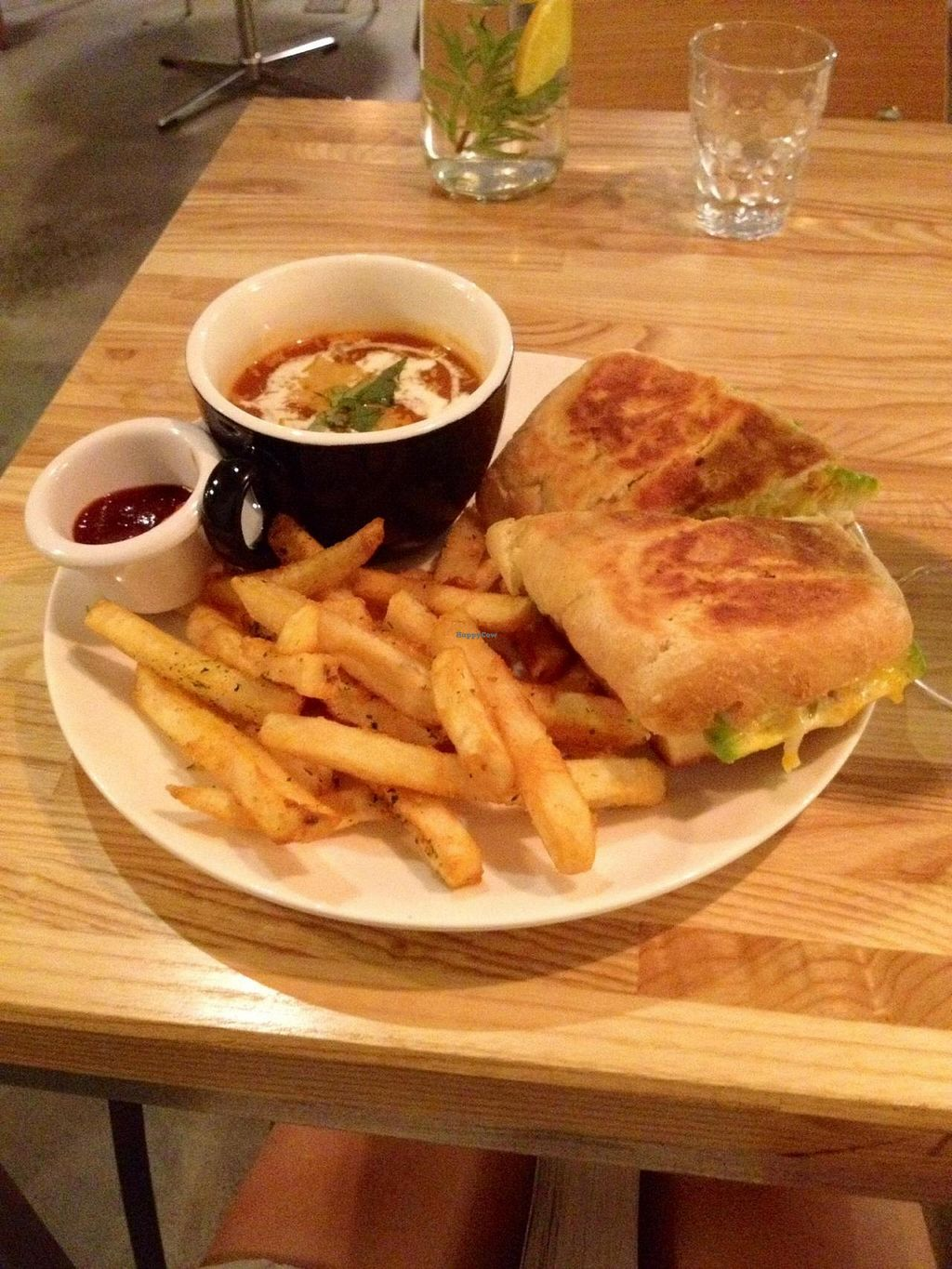 """Photo of Herban Kitchen and Bar  by <a href=""""/members/profile/Avesloa"""">Avesloa</a> <br/>Grilled Cheese: Avocado Lemon Compote <br/> July 7, 2014  - <a href='/contact/abuse/image/45569/73406'>Report</a>"""