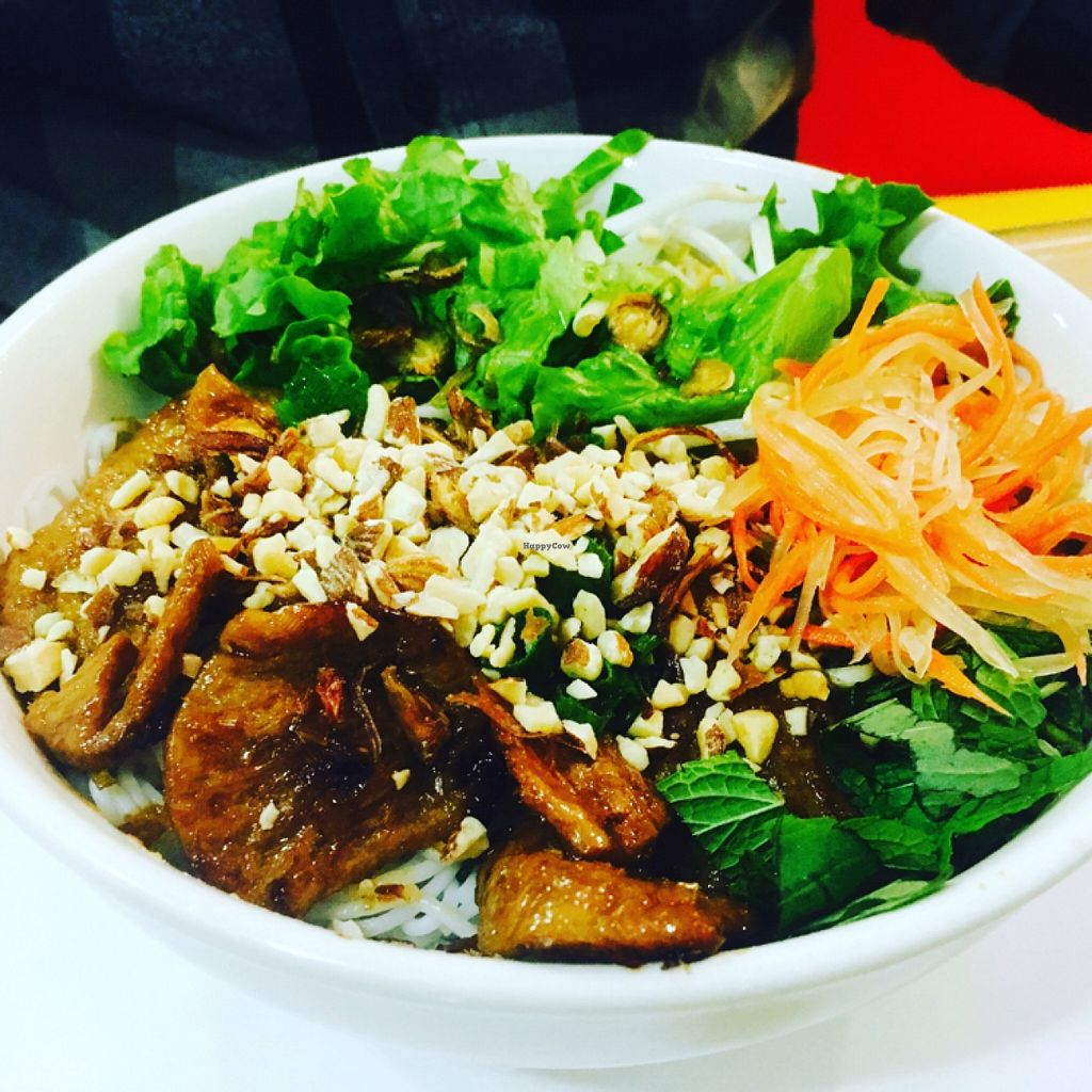 "Photo of CLOSED: Vegan Cuisine  by <a href=""/members/profile/amymylove"">amymylove</a> <br/>beef vermicelli bowl <br/> March 13, 2016  - <a href='/contact/abuse/image/45571/139847'>Report</a>"