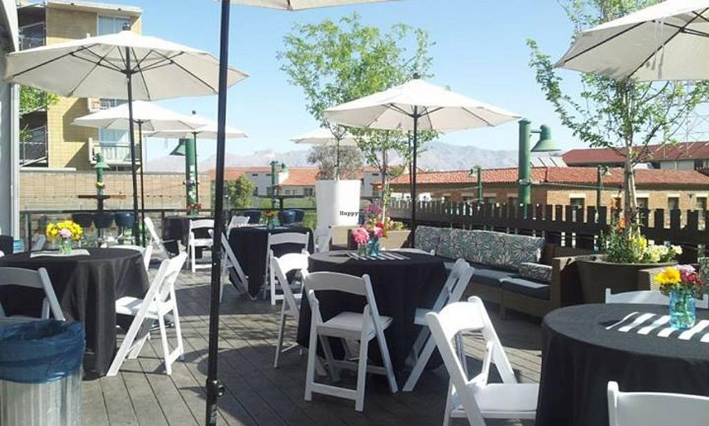 """Photo of The Hub  by <a href=""""/members/profile/community"""">community</a> <br/>Outdoor dining <br/> April 3, 2014  - <a href='/contact/abuse/image/45593/66946'>Report</a>"""