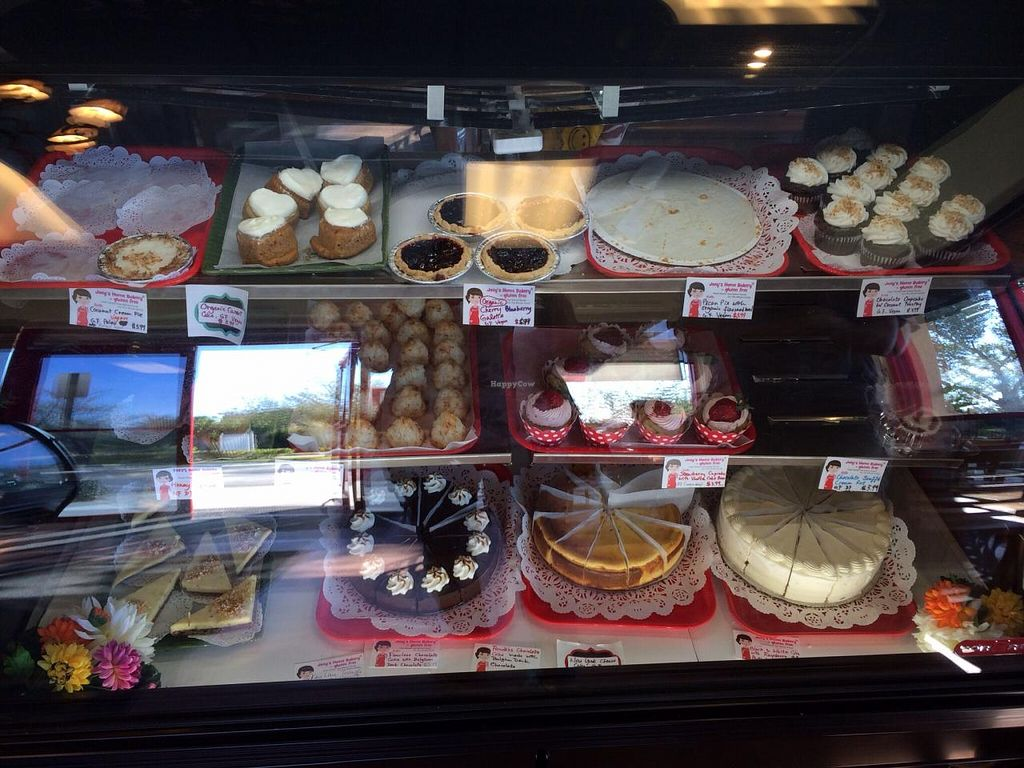 "Photo of Joey's Home Bakery  by <a href=""/members/profile/kmilitello"">kmilitello</a> <br/>Top shelf is vegan, second shelf is dairy free (uses eggs), and third shelf uses dairy and eggs <br/> March 2, 2014  - <a href='/contact/abuse/image/45647/65084'>Report</a>"