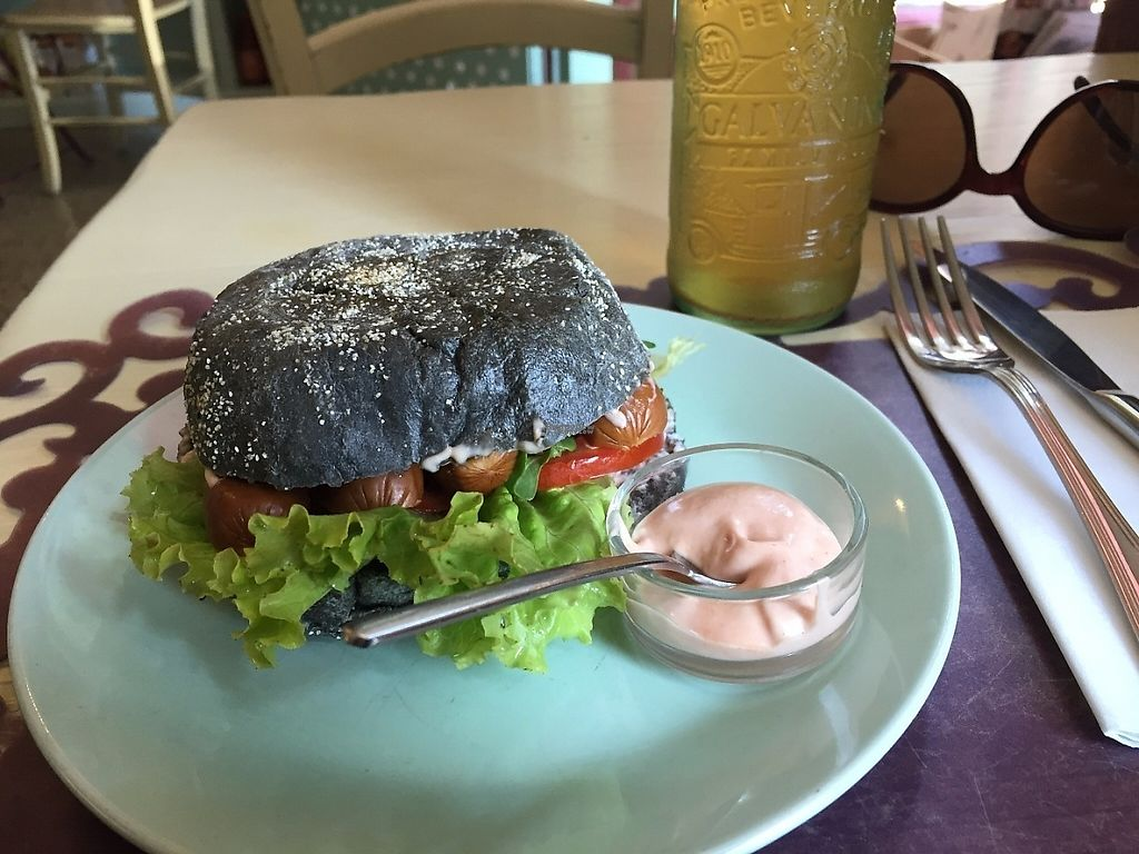 "Photo of Zoe Market and Food - Via Giulia  by <a href=""/members/profile/rackoo"">rackoo</a> <br/>Vegan Vienna sausage sandwich <br/> December 13, 2016  - <a href='/contact/abuse/image/45653/200565'>Report</a>"