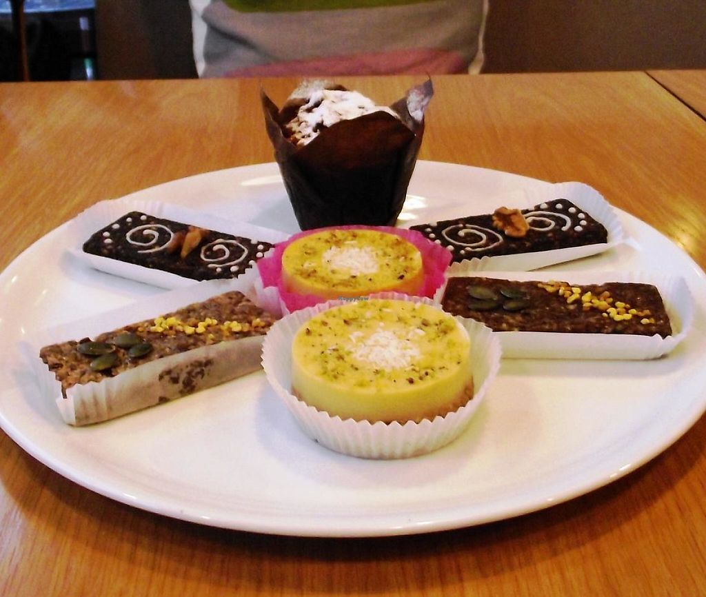 "Photo of Green Deli Cafe - A. Stambolyiski  by <a href=""/members/profile/Joanna%20Karatsaneva"">Joanna Karatsaneva</a> <br/>All Vegan Sweets!