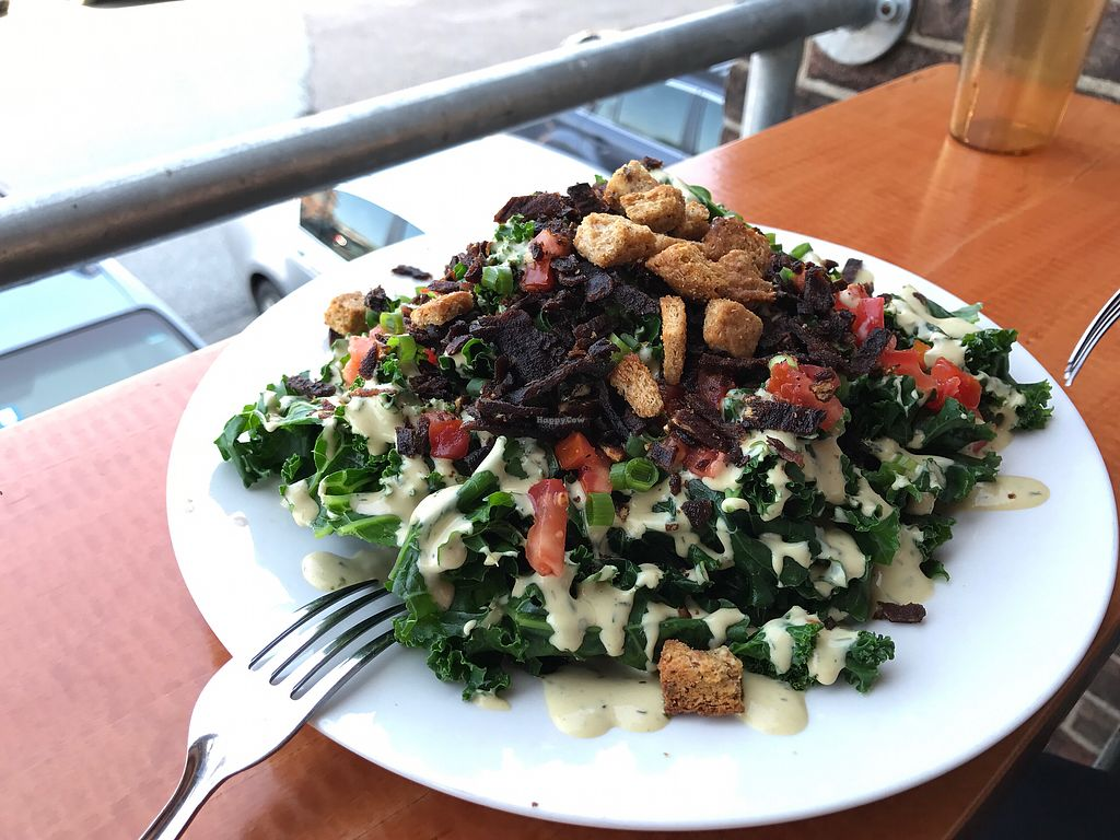 """Photo of Pingala Cafe  by <a href=""""/members/profile/SimonBodzioch"""">SimonBodzioch</a> <br/>Kale Salad <br/> September 12, 2017  - <a href='/contact/abuse/image/45669/303464'>Report</a>"""
