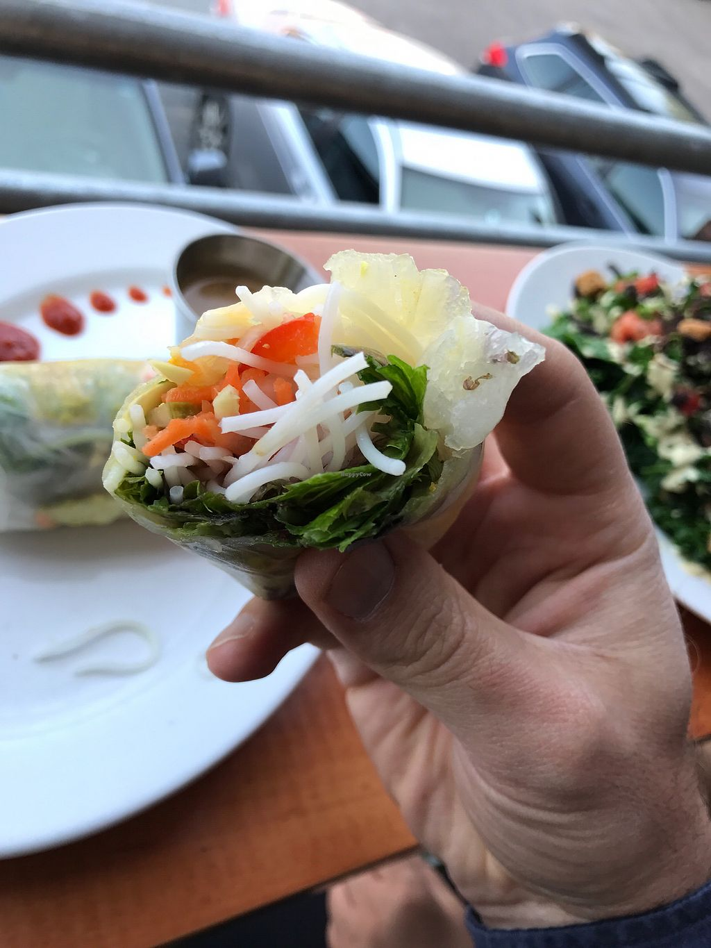 """Photo of Pingala Cafe  by <a href=""""/members/profile/SimonBodzioch"""">SimonBodzioch</a> <br/>Delicious fresh roll (raw food) <br/> September 12, 2017  - <a href='/contact/abuse/image/45669/303469'>Report</a>"""