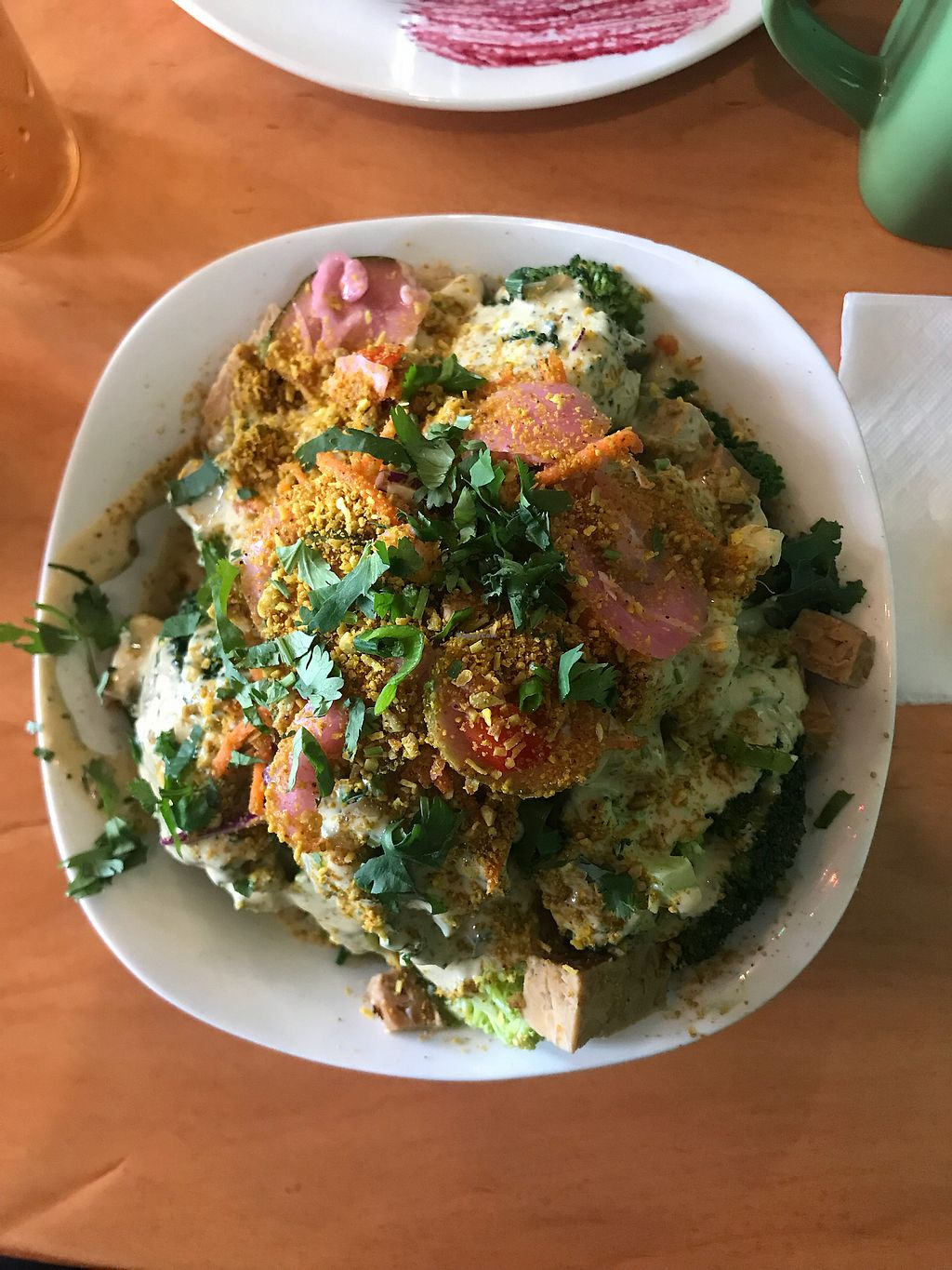 """Photo of Pingala Cafe  by <a href=""""/members/profile/theveganregan"""">theveganregan</a> <br/>Buddha Bowl <br/> November 11, 2017  - <a href='/contact/abuse/image/45669/324287'>Report</a>"""