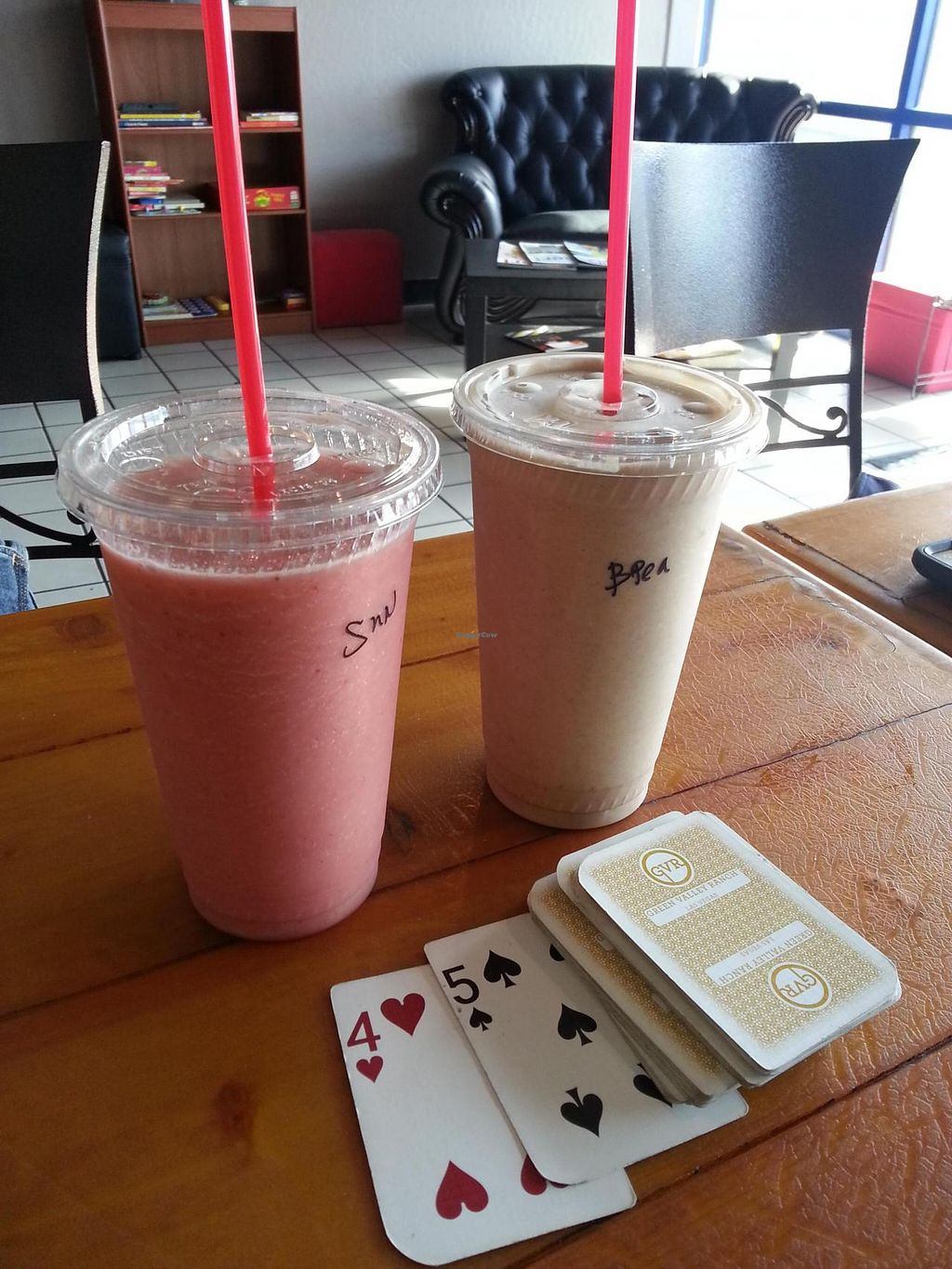 """Photo of Tiabi Coffee and Waffle Bar  by <a href=""""/members/profile/radtechg9"""">radtechg9</a> <br/>smoothies <br/> July 12, 2014  - <a href='/contact/abuse/image/45690/73851'>Report</a>"""