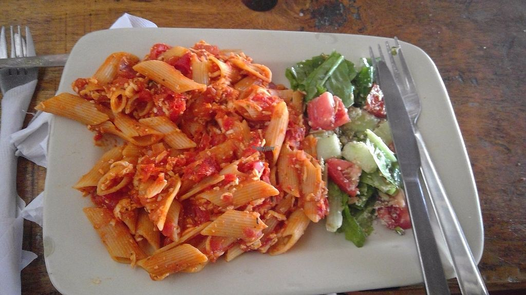 """Photo of The Dreaming Tree  by <a href=""""/members/profile/Thyge"""">Thyge</a> <br/>Pasta with tomato and tofu <br/> January 6, 2017  - <a href='/contact/abuse/image/45694/208610'>Report</a>"""
