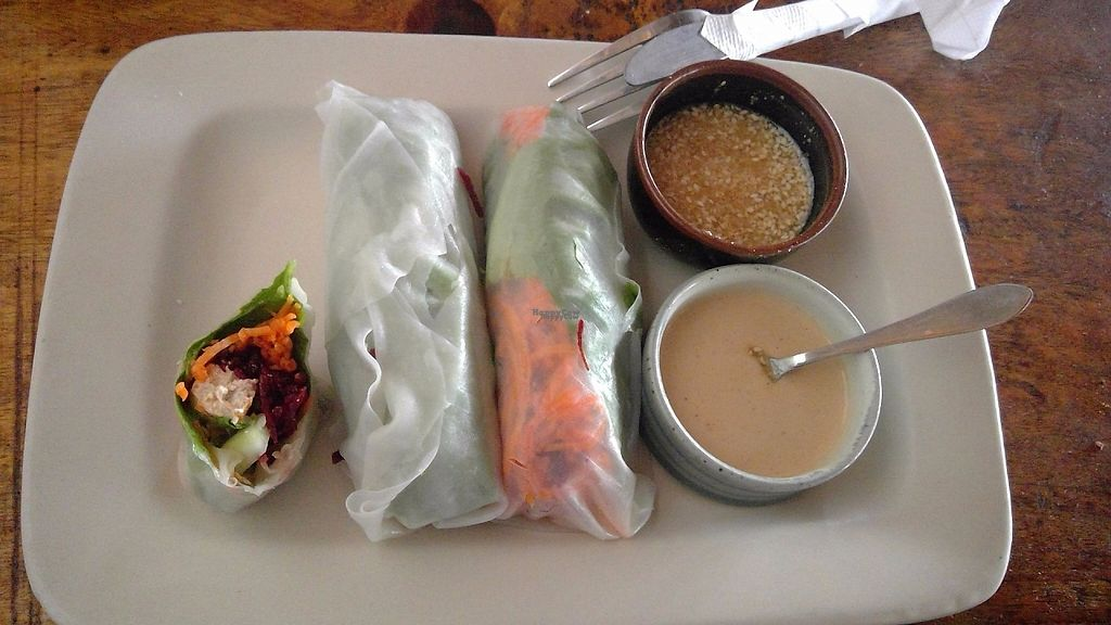 """Photo of The Dreaming Tree  by <a href=""""/members/profile/Thyge"""">Thyge</a> <br/>Asian rice rolls with peanut butter and """"soy"""" sauce <br/> January 6, 2017  - <a href='/contact/abuse/image/45694/208611'>Report</a>"""