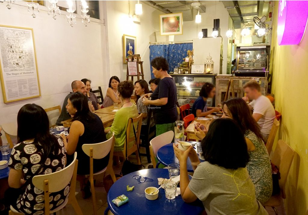 "Photo of CLOSED: Light Radiant Food  by <a href=""/members/profile/Stevie"">Stevie</a> <br/>Meat Free HK meetup 10 <br/> August 30, 2015  - <a href='/contact/abuse/image/45712/115841'>Report</a>"