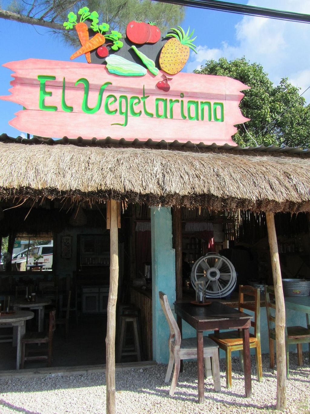 "Photo of El Vegetariano  by <a href=""/members/profile/BlisterBlue"">BlisterBlue</a> <br/>El vegetariano in Tulum (Mexico) <br/> March 15, 2014  - <a href='/contact/abuse/image/45726/65978'>Report</a>"