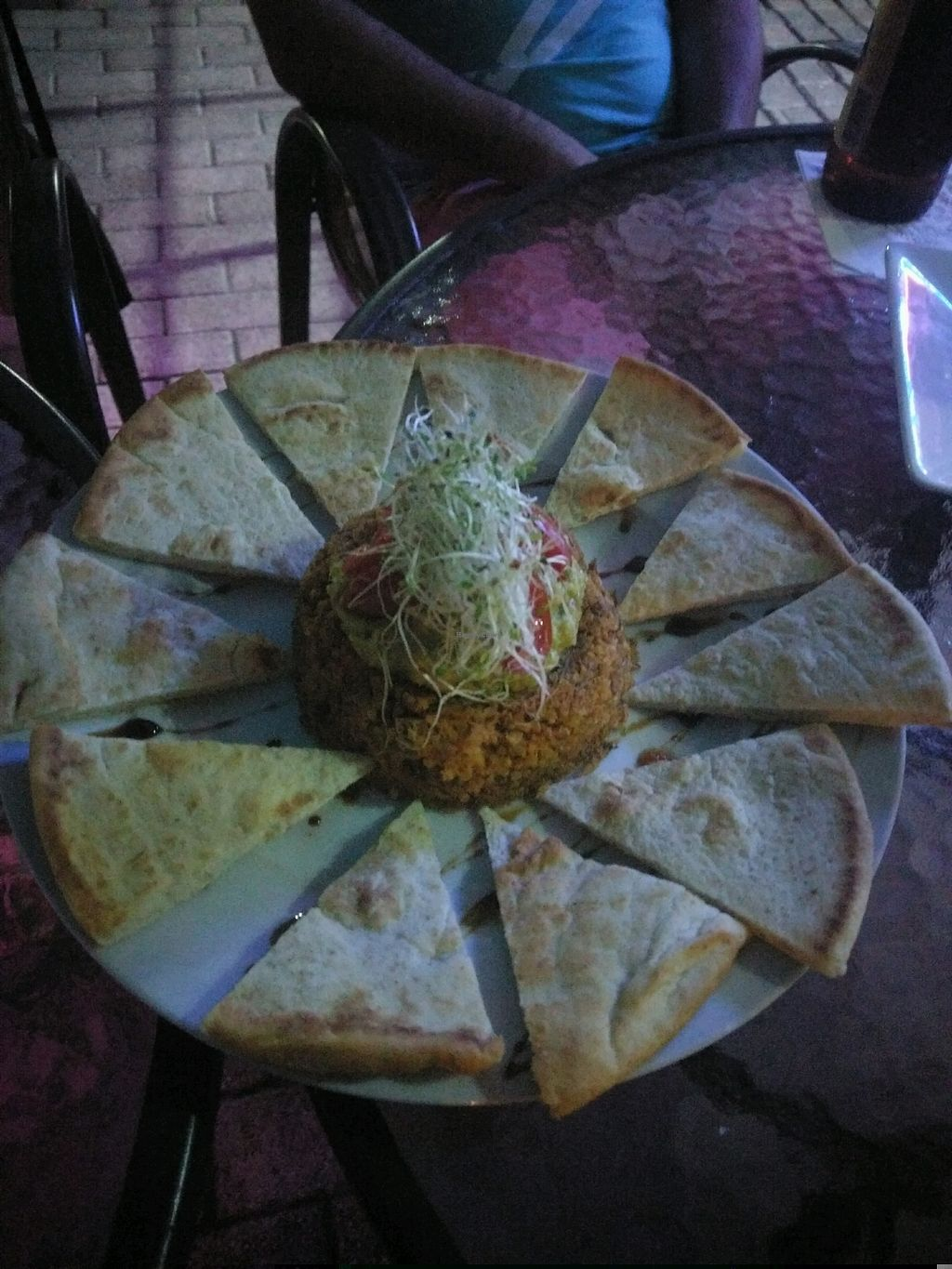 """Photo of Ocean Park Cafe  by <a href=""""/members/profile/ChristineLugo"""">ChristineLugo</a> <br/>meatless nachos <br/> January 9, 2018  - <a href='/contact/abuse/image/45729/344534'>Report</a>"""