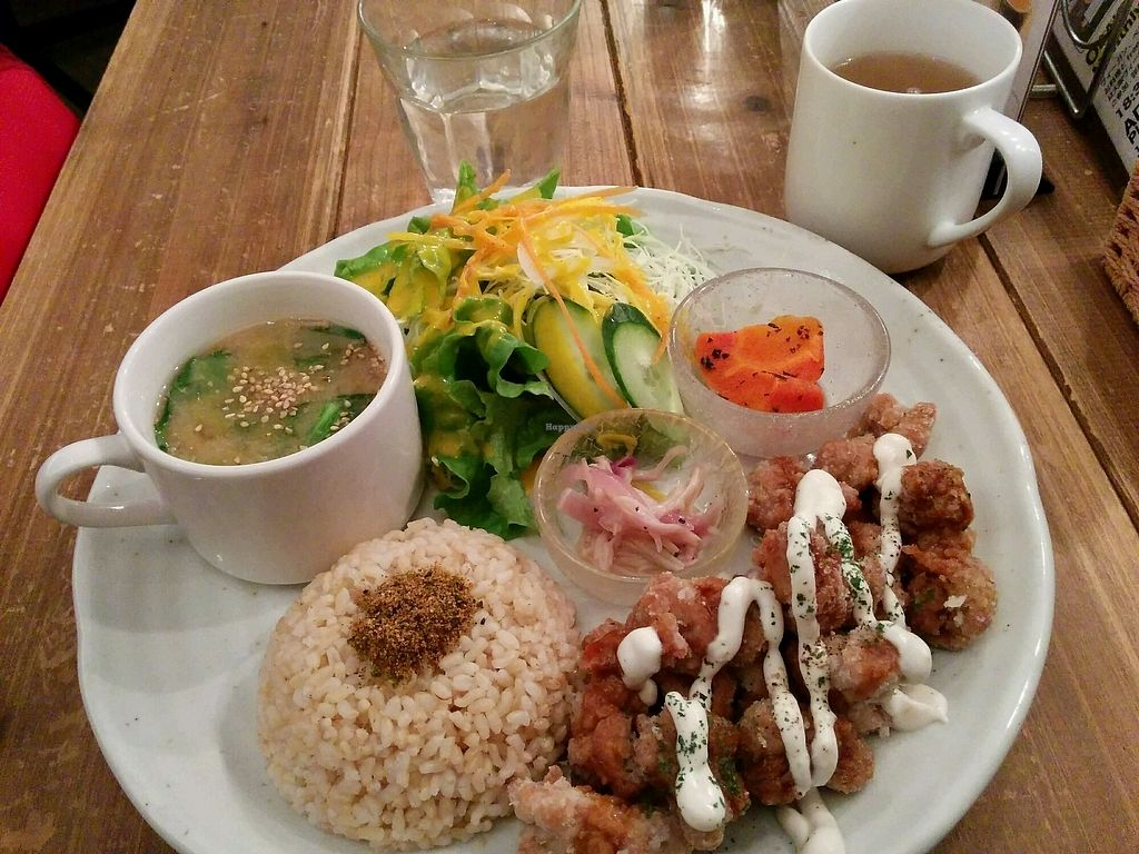 """Photo of Paprika Shokudo Vegan  by <a href=""""/members/profile/Shoohei"""">Shoohei</a> <br/>Today's special  <br/> January 8, 2018  - <a href='/contact/abuse/image/45738/344285'>Report</a>"""
