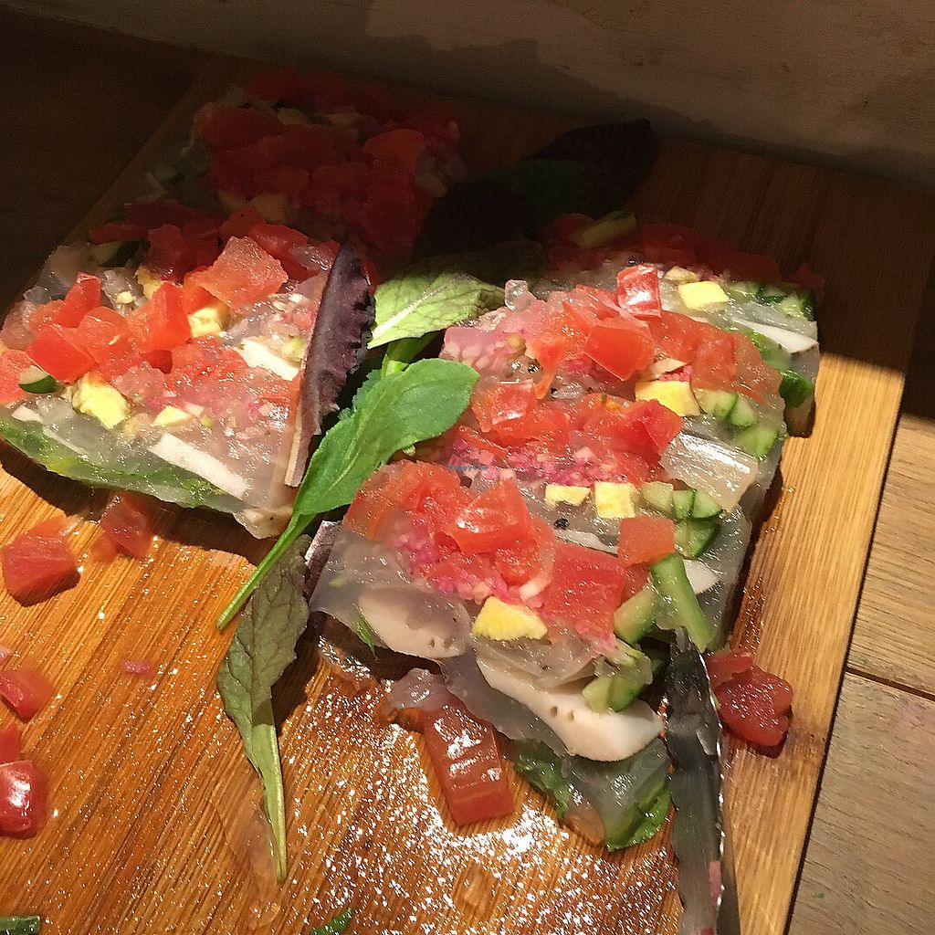 """Photo of Paprika Shokudo Vegan  by <a href=""""/members/profile/AshleyCampbell"""">AshleyCampbell</a> <br/>Reminded us of a vegan poke  <br/> February 22, 2018  - <a href='/contact/abuse/image/45738/362436'>Report</a>"""