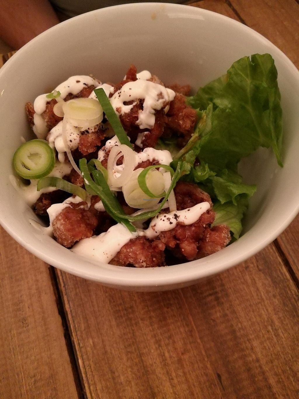 """Photo of Paprika Shokudo Vegan  by <a href=""""/members/profile/Felicious"""">Felicious</a> <br/>Karage soy meat  <br/> April 10, 2018  - <a href='/contact/abuse/image/45738/383275'>Report</a>"""