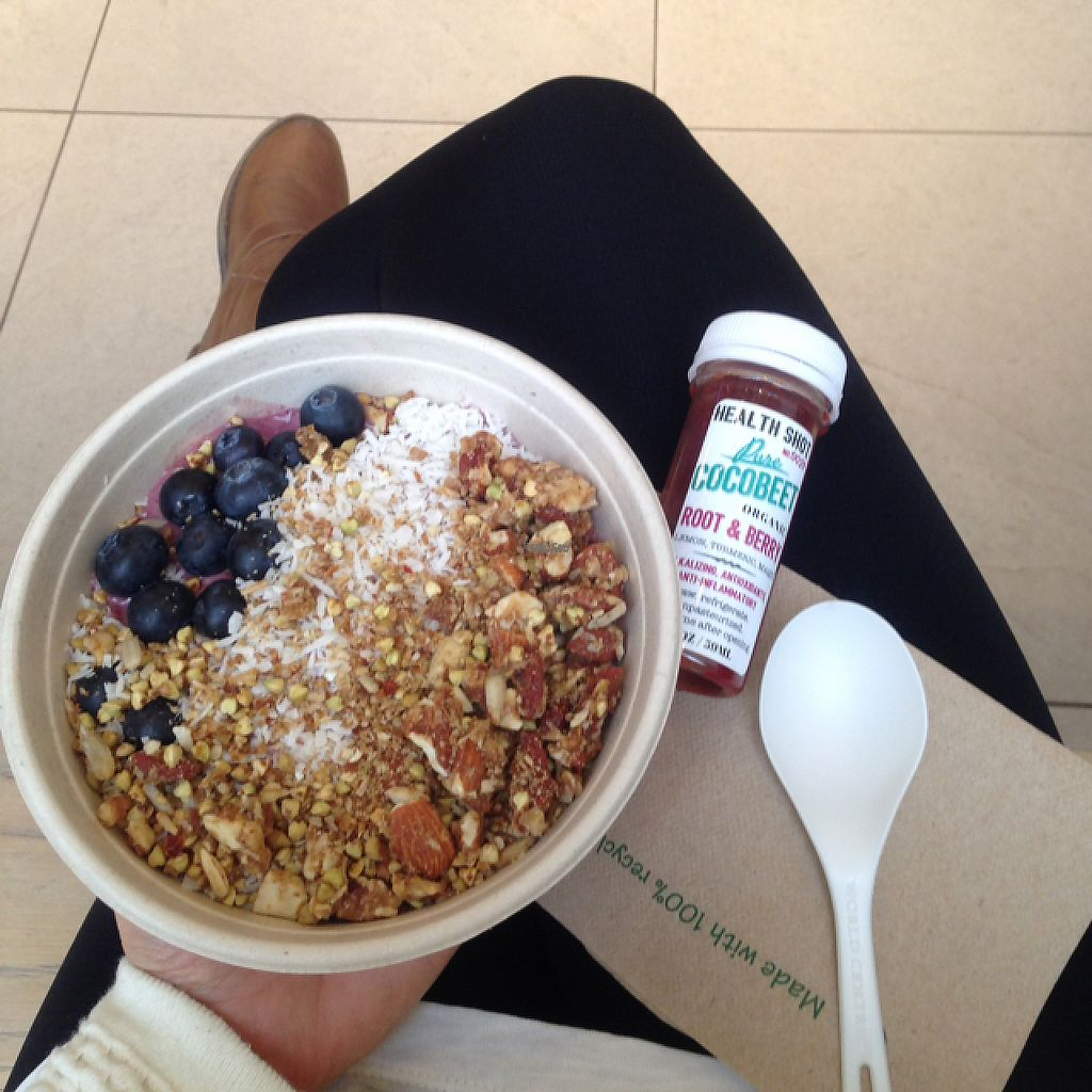 "Photo of Cocobeet  by <a href=""/members/profile/VaniaBriito"">VaniaBriito</a> <br/>Full of energy for the next hours :)) Açaí Bowl and Root and Berry Shot! <br/> December 7, 2016  - <a href='/contact/abuse/image/45751/198095'>Report</a>"