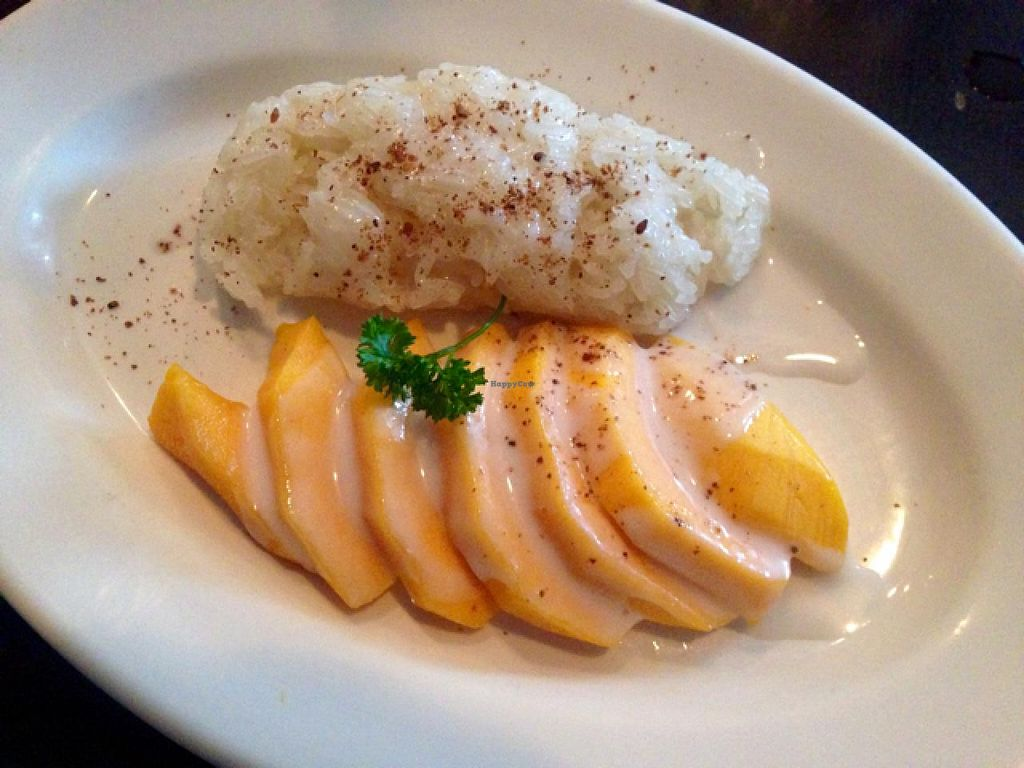 """Photo of Lily Thai  by <a href=""""/members/profile/catching_dreams"""">catching_dreams</a> <br/>Lily Thai - Mango sticky rice dessert <br/> July 27, 2015  - <a href='/contact/abuse/image/45785/111189'>Report</a>"""