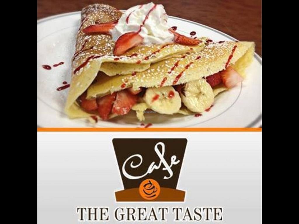 """Photo of CLOSED: The Great Taste Cafe  by <a href=""""/members/profile/AlbertoMurillo"""">AlbertoMurillo</a> <br/>Logo with crepe <br/> March 14, 2014  - <a href='/contact/abuse/image/45848/65917'>Report</a>"""