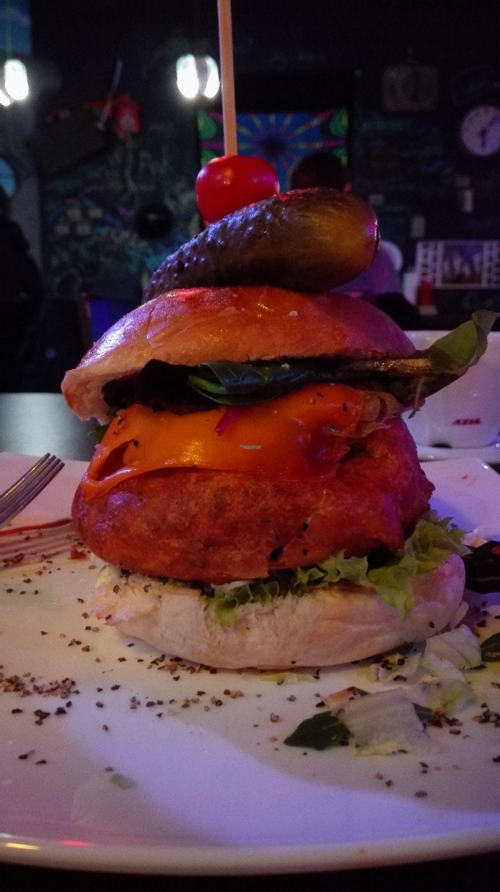 "Photo of Lily Burger  by <a href=""/members/profile/VeganVenturer"">VeganVenturer</a> <br/>The FBI New York burger in Nov 2016 <br/> November 6, 2016  - <a href='/contact/abuse/image/45852/186862'>Report</a>"