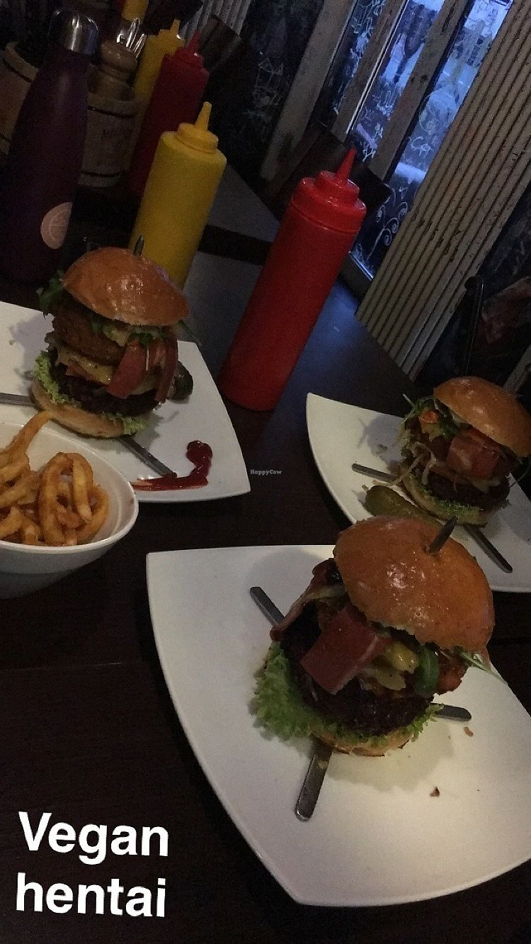 """Photo of Lily Burger  by <a href=""""/members/profile/SkyFitzgerald"""">SkyFitzgerald</a> <br/>Two fidel castros, one john f kennedy, two bowls of curly fries  <br/> January 14, 2018  - <a href='/contact/abuse/image/45852/346694'>Report</a>"""