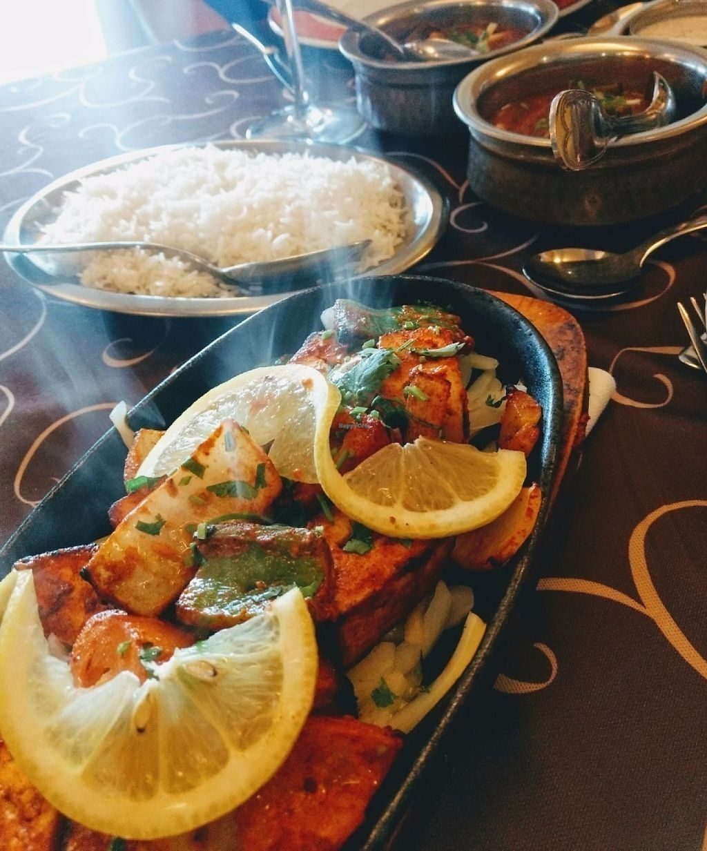 """Photo of Sabor da India  by <a href=""""/members/profile/Milla_P"""">Milla_P</a> <br/>Vegetarian tandoor, yammy! <br/> June 5, 2017  - <a href='/contact/abuse/image/45854/266127'>Report</a>"""