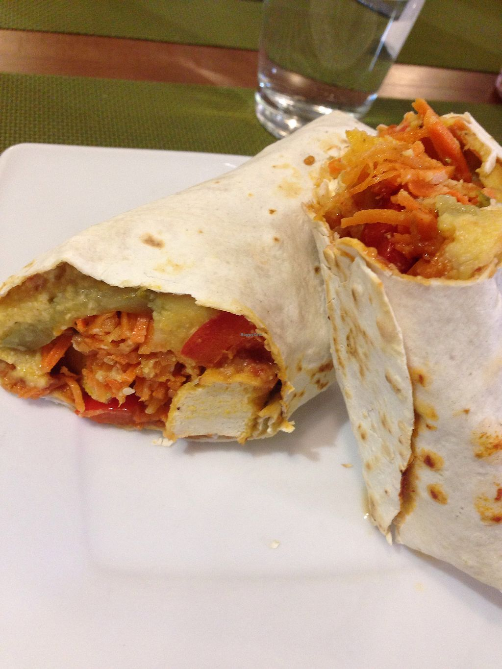 """Photo of Green  by <a href=""""/members/profile/MichaelaSojak"""">MichaelaSojak</a> <br/>tofu wrap.  <br/> June 22, 2017  - <a href='/contact/abuse/image/45876/272338'>Report</a>"""