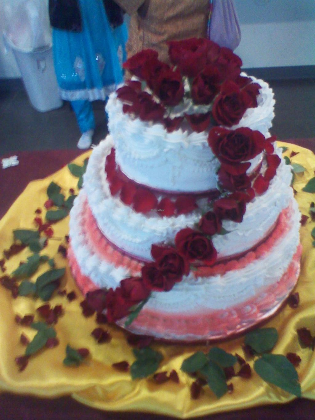 Photo of Rose Valley Cakes  by rosevalley1 <br/>vegan wedding cake <br/> March 21, 2014  - <a href='/contact/abuse/image/45900/66283'>Report</a>