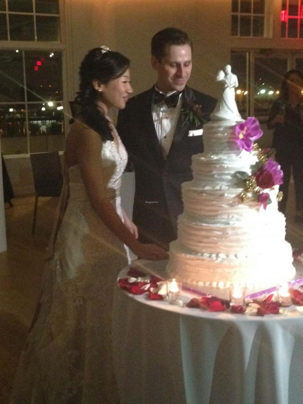 """Photo of Rose Valley Cakes  by <a href=""""/members/profile/slo0go"""">slo0go</a> <br/>Chocolate and coconut five-tiered wedding cake <br/> February 8, 2015  - <a href='/contact/abuse/image/45900/92615'>Report</a>"""