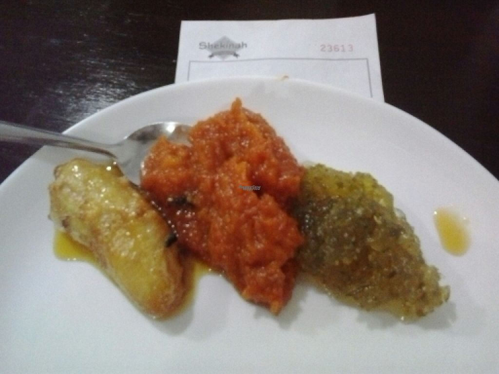 "Photo of Shekinah  by <a href=""/members/profile/laranjatomate"">laranjatomate</a> <br/>Brazilian desserts: banana, pumpkin and sidra <br/> April 5, 2017  - <a href='/contact/abuse/image/45903/244998'>Report</a>"