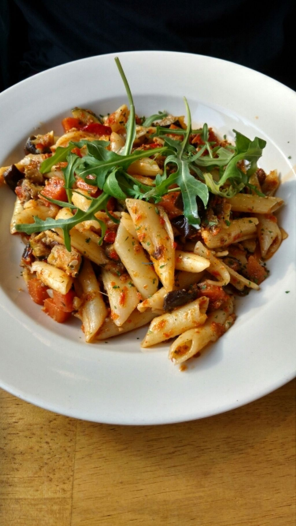 """Photo of Art Cafe  by <a href=""""/members/profile/katupiry"""">katupiry</a> <br/>vegan pasta <br/> March 25, 2016  - <a href='/contact/abuse/image/45953/141263'>Report</a>"""