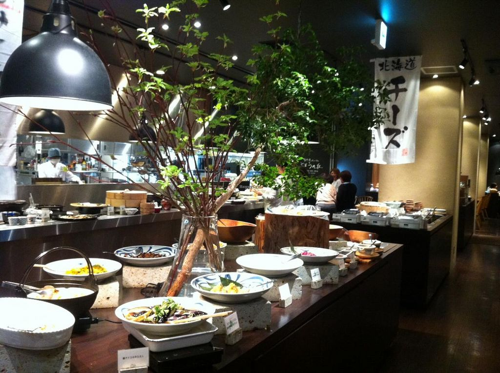 "Photo of Budou No Oka  by <a href=""/members/profile/Inoshishi"">Inoshishi</a> <br/>The buffet <br/> April 10, 2014  - <a href='/contact/abuse/image/45973/67324'>Report</a>"