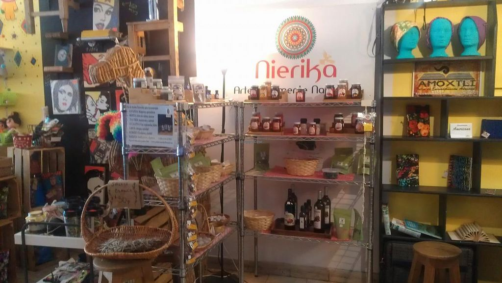 """Photo of CLOSED: Nierika Artesanal  by <a href=""""/members/profile/kenvegan"""">kenvegan</a> <br/>Products in the store <br/> August 18, 2014  - <a href='/contact/abuse/image/45977/77344'>Report</a>"""