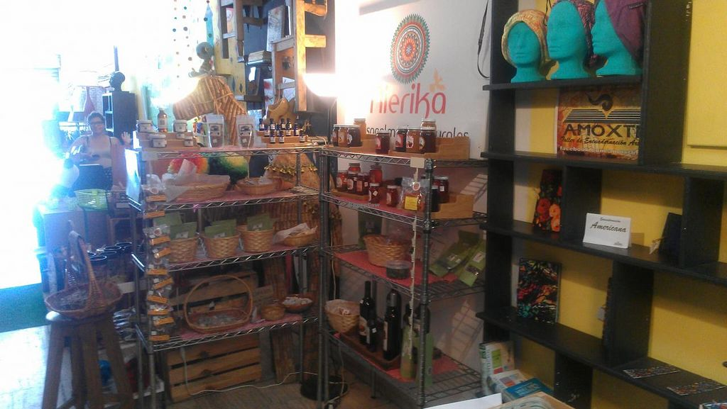 """Photo of CLOSED: Nierika Artesanal  by <a href=""""/members/profile/kenvegan"""">kenvegan</a> <br/>products in the store <br/> August 18, 2014  - <a href='/contact/abuse/image/45977/77345'>Report</a>"""
