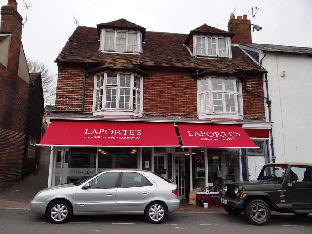 """Photo of CLOSED: Laportes  by <a href=""""/members/profile/KB"""">KB</a> <br/>Front of Laporte's, 4 Lansdown Place, Lewes <br/> March 30, 2014  - <a href='/contact/abuse/image/45987/66742'>Report</a>"""